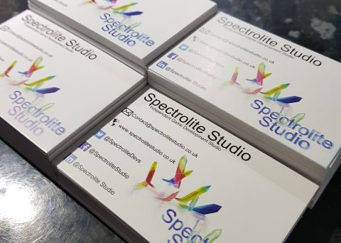 Spectrolite Studio Business cards