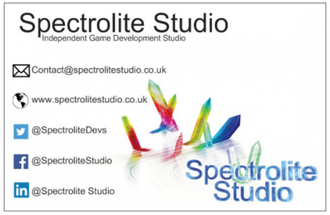 Spectrolite Studio Business card